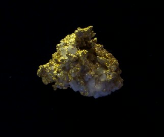 Gold and Quartz Specimen